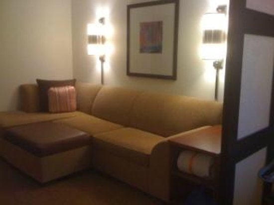 Hyatt Place Riverside Downtown : All rooms are suites at this Hotel