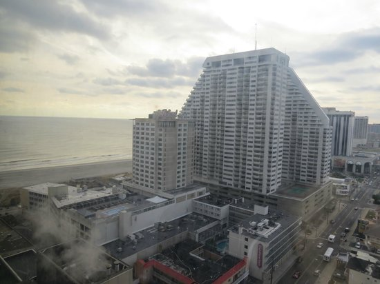 Tropicana Atlantic City: Looking toward Ocean & The Chelsea