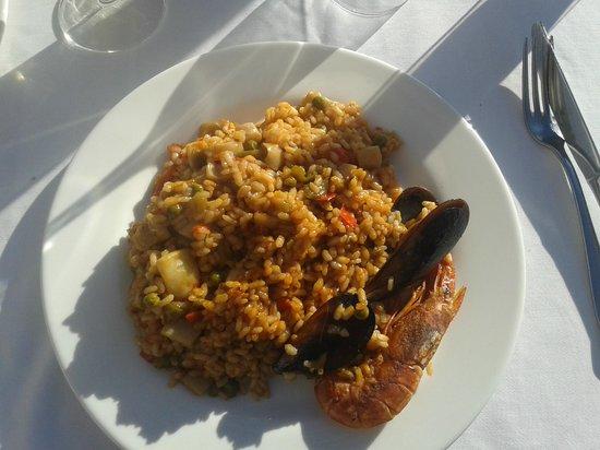 Restaurante Peru : La paella del Peru