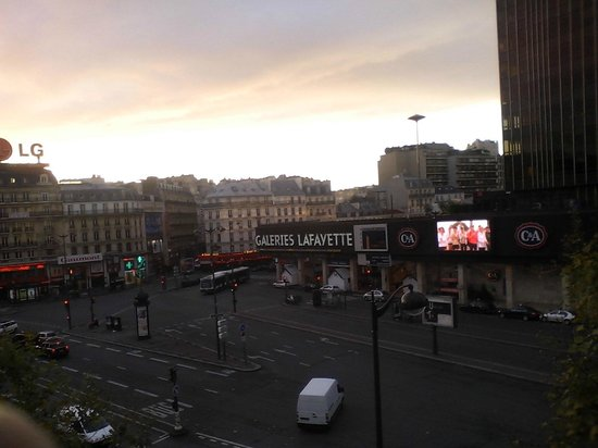 Hotel Edouard VI: Vista