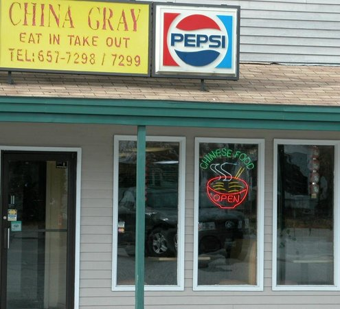 China gray has been around a long time, as you can see by their sign