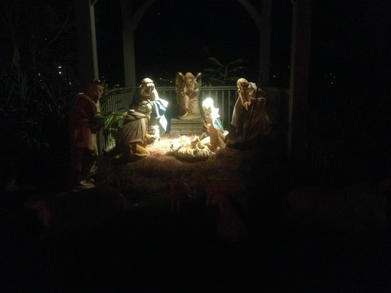 Bellingrath Gardens and Home: Nativity Scene.