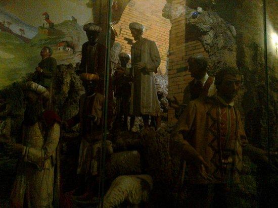 Basilica dell'Immacolata al Gesu Vecchio: presepe