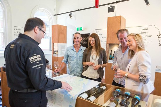 Gasworks Cellar Door: Getting to know the background of a range of local wines with James
