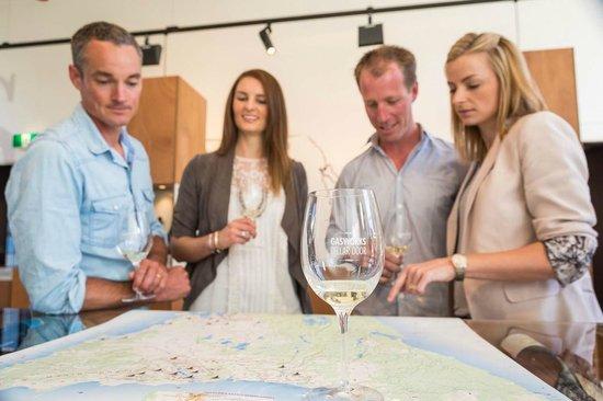 Gasworks Cellar Door: Tasting around the map of Tasmania