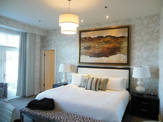 Manoir Hovey: Our guest room