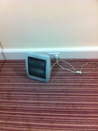 Holiday Inn Rotherham-Sheffield M1, Jct. 33: The heating in room 330