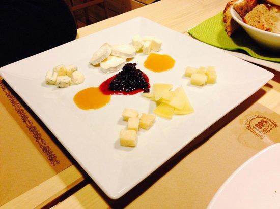 Panko: Tabla de quesos