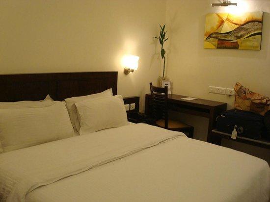 Hotel Taj Resorts: our bed