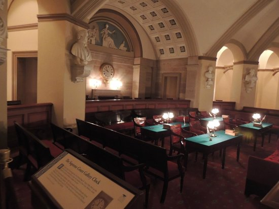 U.S. Capitol: The Supreme Court Gallery Clock