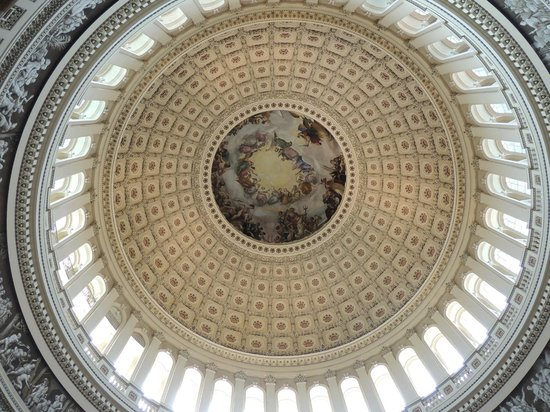 U.S. Capitol: Detalle de la increíble cúpula