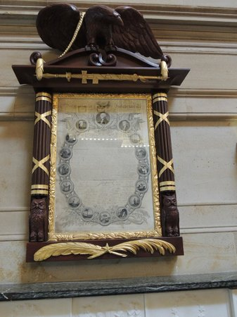 U.S. Capitol: Declaración de Independencia