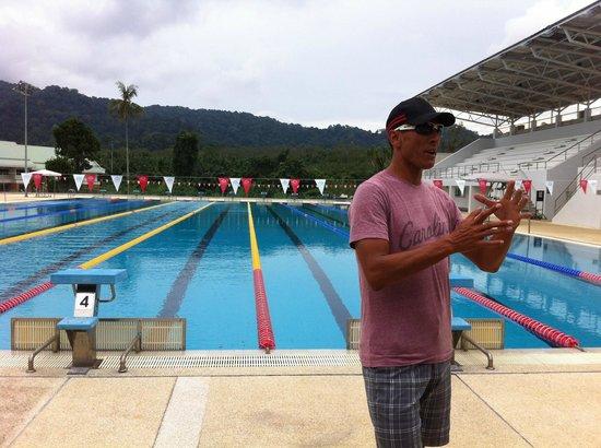 Thanyapura Sports Hotel: Swim Training