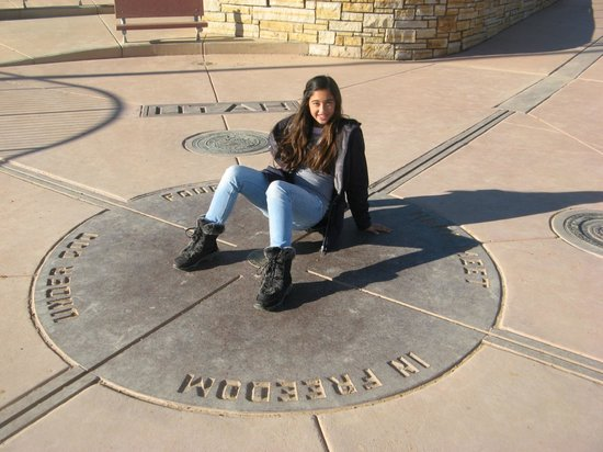 Four Corners Monument: Me in All 4 States