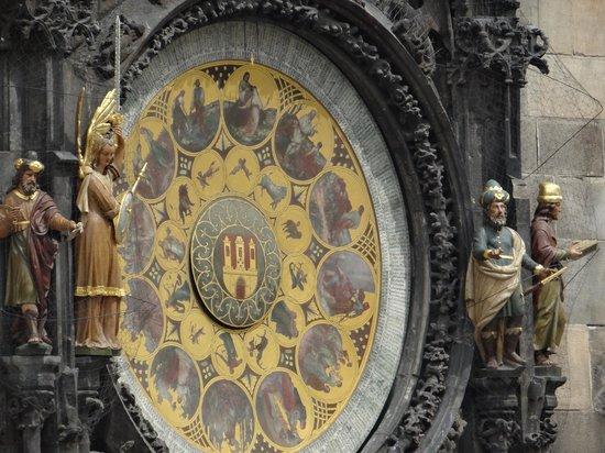 Hotel Melantrich: Reloj astronomico