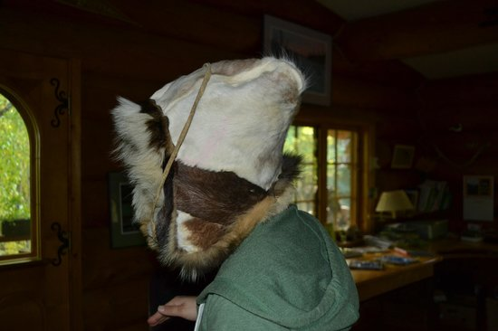 Alaskan Tails of the Trail with Mary Shields : Alaskan Indian hat