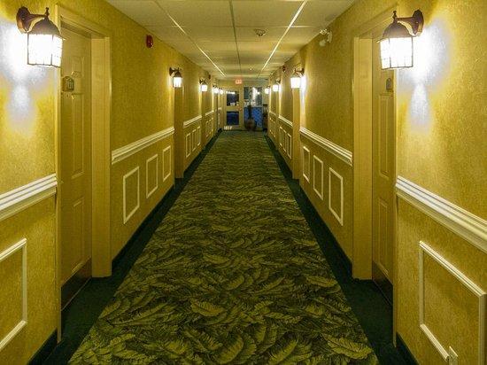 Cedar Meadows Resort & Spa: Hallway