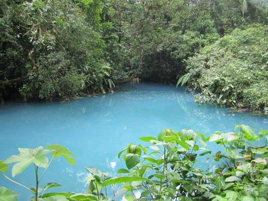 Rio Celeste: Blue Lagoon
