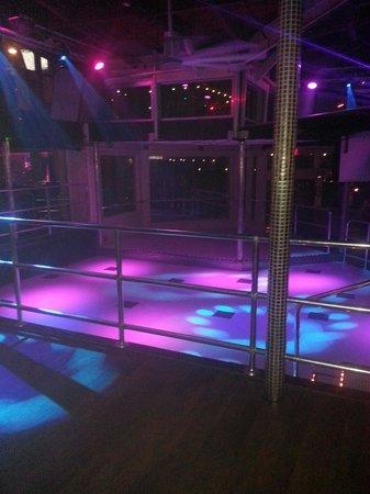 Spinnaker Beach Club: The dance floor