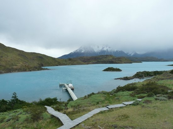 explora Patagonia: Vista em dia nublado