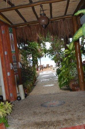 DPNY Beach Hotel & Spa: entrada