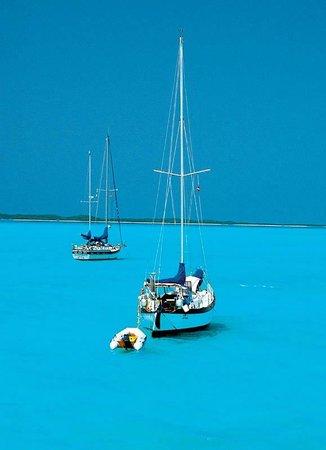 Magical Elizabeth Harbour Exuma Bahamas Picture Of