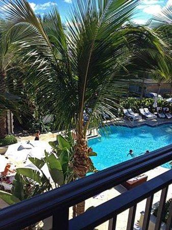 Kimpton Vero Beach Hotel & Spa : View of pool from balcony