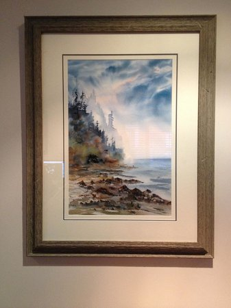 Canwest Art Gallery on the Lake : Sorry about the reflections!