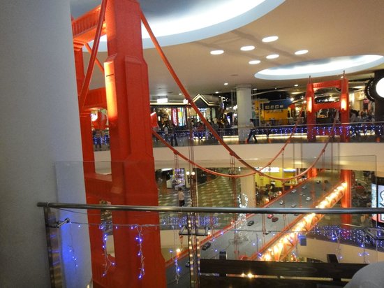 Red Planet Asoke, Bangkok : Inside terminal 21 shopping complex. About 300meters from Tune Hotel