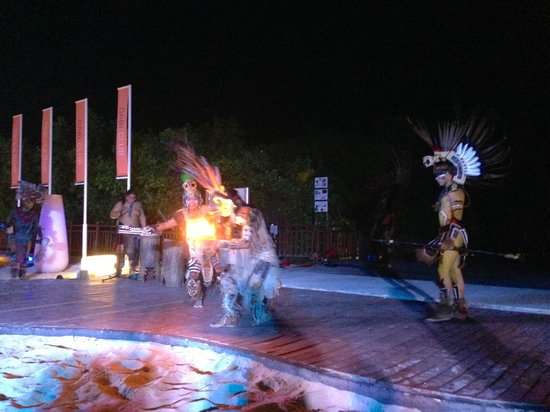 Paradisus Playa Del Carmen La Esmeralda : Show maya