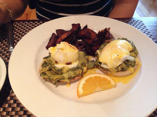 Eli's Table: Spinach/Artichoke Eggs Benedict