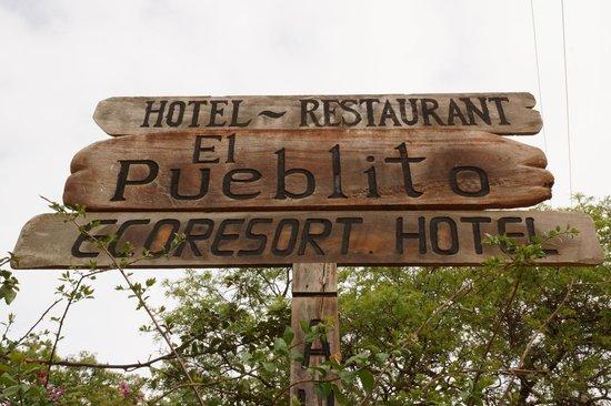 El Pueblito Resort: entrée