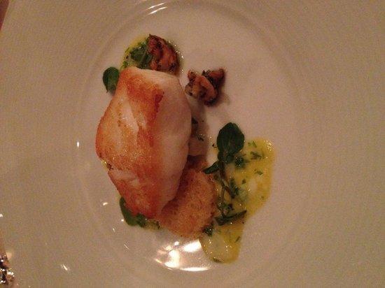 Bergamot: Seared Cod...delicious