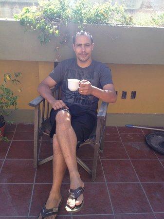 Viejo Telmo: Terraço