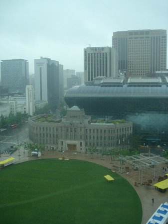 THE PLAZA : Room View: Seoul City Hall/Library