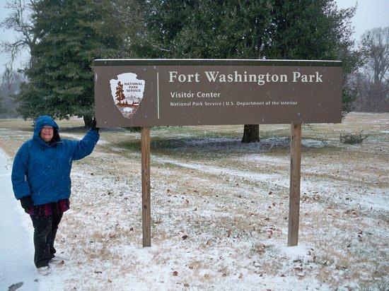 Fort Washington Park: Entrance to Fort Washington