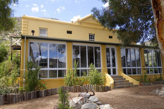 Sanbona Wildlife Reserve: The historic house in the Tilney Manor complex