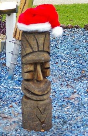 Kona Kai Motel: Christmas Tiki!