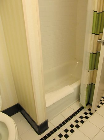 Fairfield Inn & Suites Kingsland : Room 326-Nice Clean shower