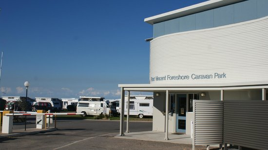 Port vincent foreshore caravan park 2018 reviews photos - Accommodation port adelaide south australia ...