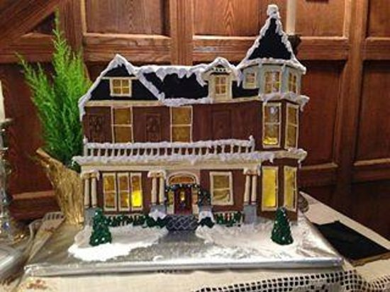 Secret Garden Bed & Breakfast Inn: The Secret Garden Gingerbread House