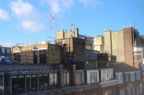 Holiday Inn London - Regent's Park: Vista da Janela, Há escritórios próximos, mas nada que atrapalhe.
