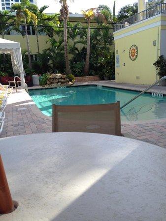 Alcazar Resort : One of the three pools