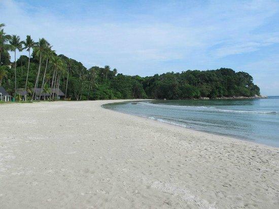 Nirwana Gardens - Indra Maya Pool Villa: blue sea and white sands