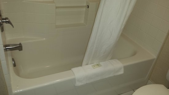 Comfort Suites Airport: Shower