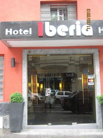 Hotel Iberia : Fachada