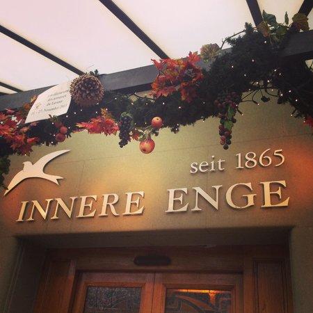 Unique Hotel Innere Enge : Desde la entrada esta hermoso
