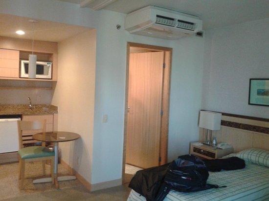 Allia Gran Hotel Brasilia Suites: Ar refrigerado