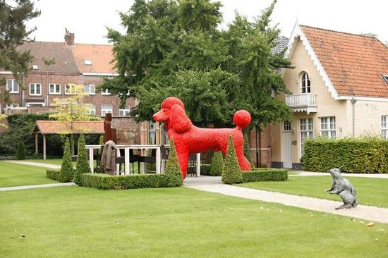 Hotel Dukes' Palace Bruges: El jardín del hotel