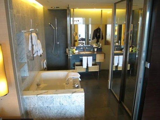 Hilton Kuala Lumpur : swanky and cool bathroom
